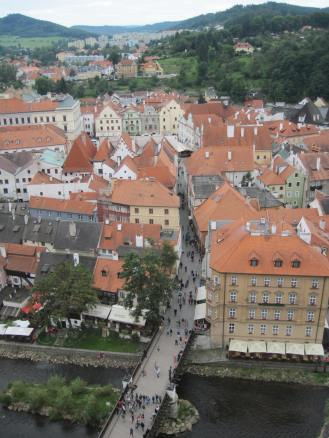 Old Town from above