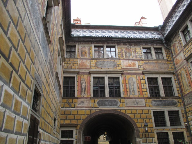 Another interior courtyard