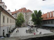 One interior courtyard