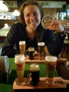 On Aug 13, 2014 we were doing an early morning beer tasting in Munich at the oldest continuously functioning brewery in the world....