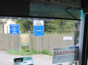 Entering into Slovakia