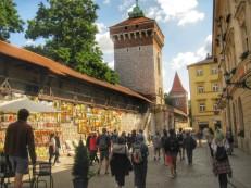 Approaching Florian's Gate