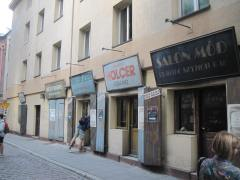 A street used in the movie Schindler's List