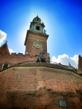 Wawel Castle- the statue is actually of Tadeusz Kościuszko who fought in the American Revolutionary War