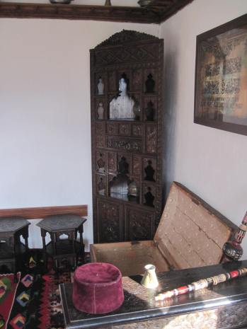 Intricately carved furniture