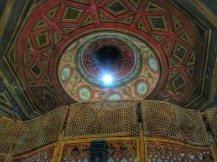Lovely ceiling in the mosque
