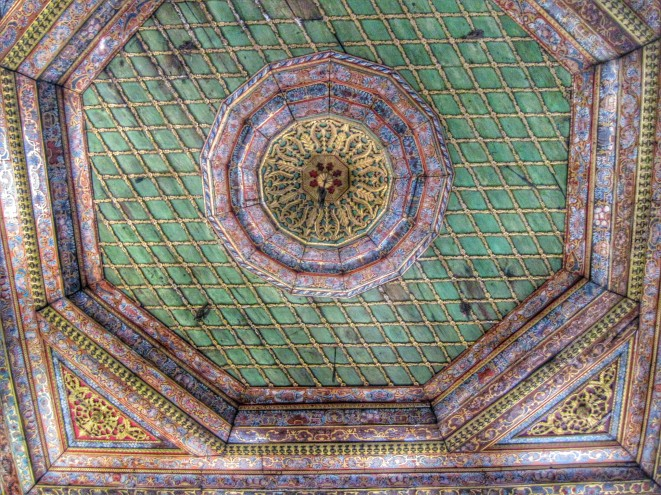 Ceiling of the Tekke