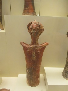 One of the figurines found in Mycenae