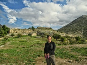 The citadel of Mycenae