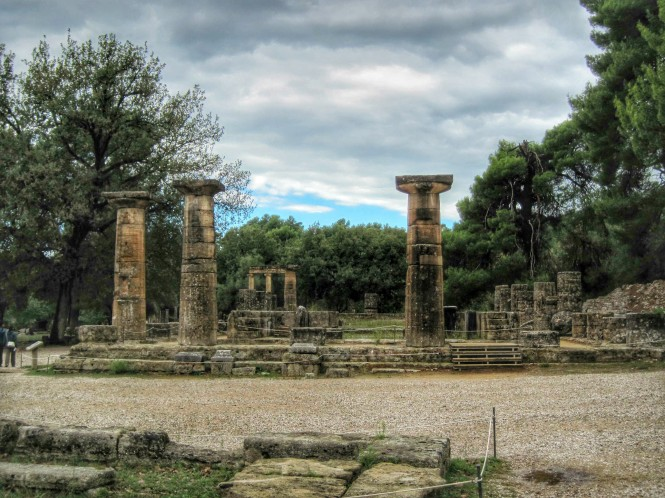 Remains of the Temple of Hera