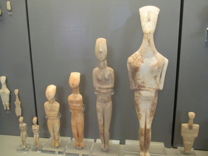Cycladic figurines