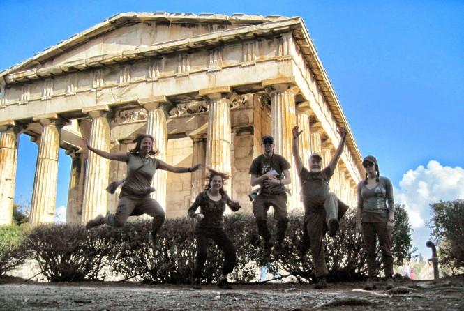 Temple of Hephaestus Jelfie