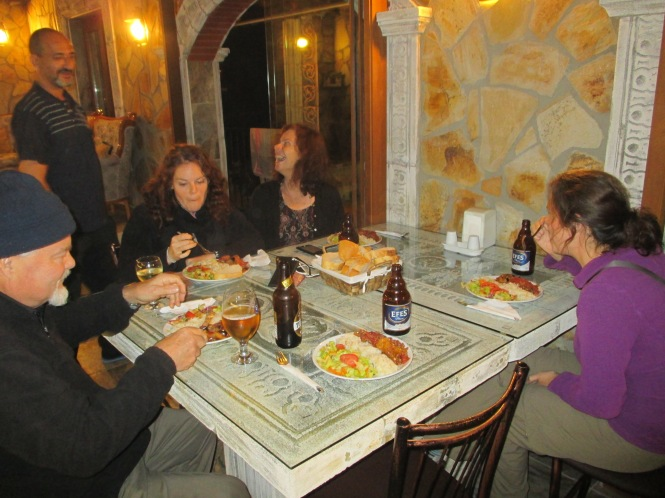 One of our great dinners at Attila's
