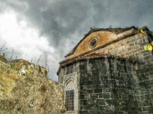 One of the not so damaged churches. It was closed at our time of visit due to renovations