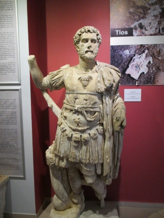 Statue of a Roman emporer from Tlos
