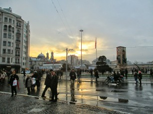 The top of Istiklal