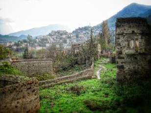 The abandoned village of Kayakoy
