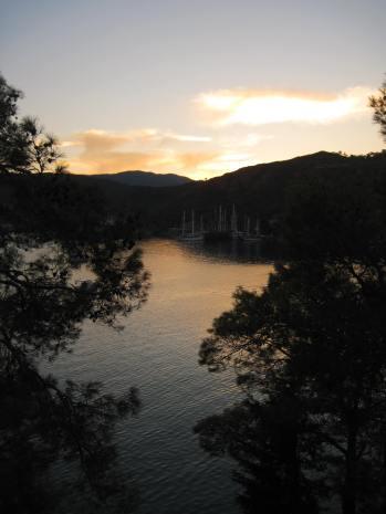 Sunset over Fethiye