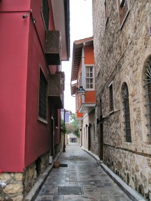 The streets of Kaleici