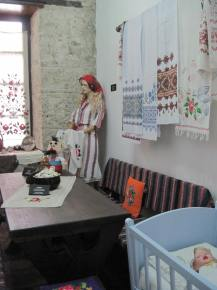One of the rooms with a cultural display