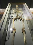 A Viking skeleton with sword