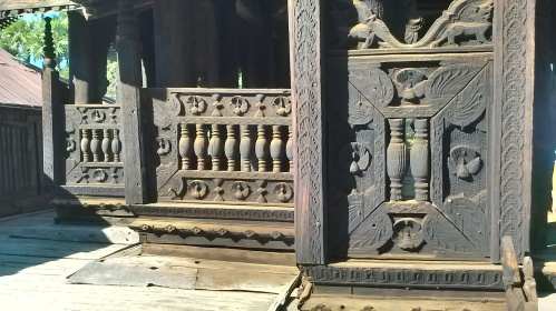 Intricate woodwork