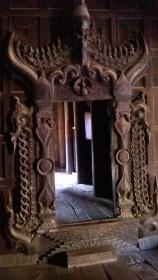 Intricate interior door