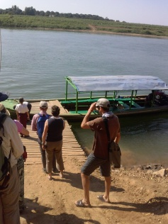 The ferry to Inwa