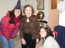 New Years with Grandma Lucille 2009