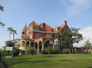 The exterior of the Moody Mansion