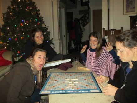 Fun game of Scrabble