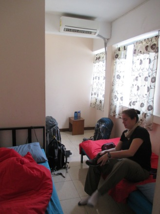 Our small, but comfortable room at U-Baan