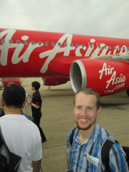 Our plane to MDL