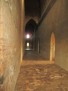Tall empty corridors
