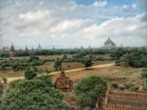 View from Shwesandaw Paya