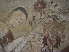 Beautiful frescos on the inside