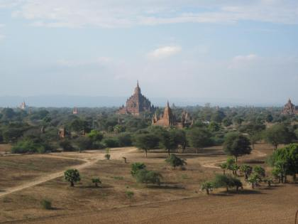 View from Pythada Paya