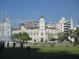 Once the most famous department store in Rangoon, now a bank