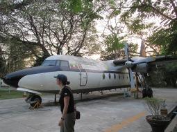 Old Myanma Airways plance