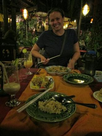 Khmer Surin dinner