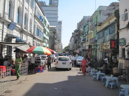 A typical side street