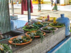 Food you could buy as offering to feed the turtles