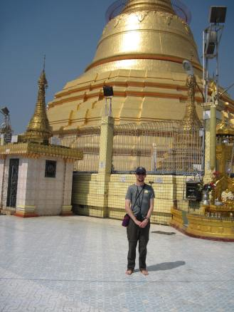 The stupa which you can go inside