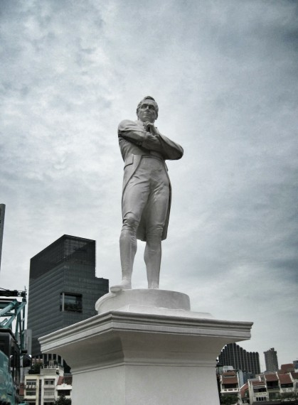 Raffles, the founder of modern Singapore