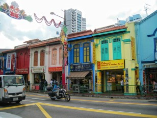 The streets of Little India