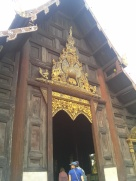 The teak temple