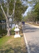 Riding around Sukhothai
