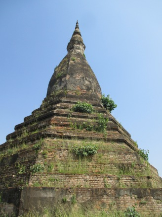 That Dam, an old stupa whose gold was stolen a long time ago