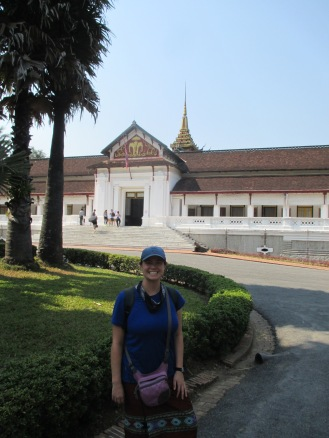 The Royal Palace (and Della's new Lao skirt!)
