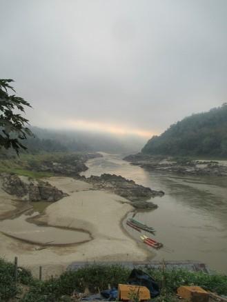 Morning Mist over the Mekong